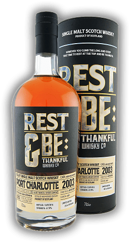 Port Charlotte Rest & Be Thankful 2003 13 Years Cask #640