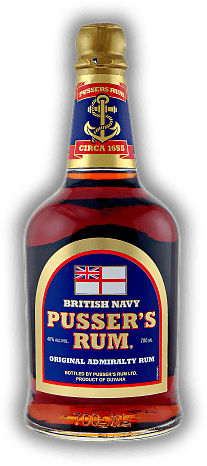 Pussers British Navy Blue Label 40%