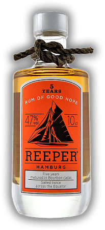 Reeper Rum Hamburg 5 Years 47% 0,1 Liter