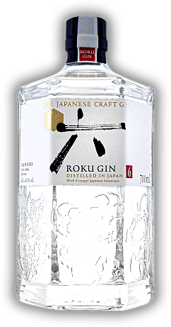 Roku Japanese Craft Gin 43%
