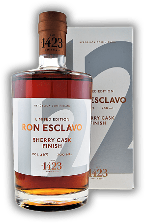 Ron Esclavo 12 Anos Solera Rum Sherry Cask Finish 46%