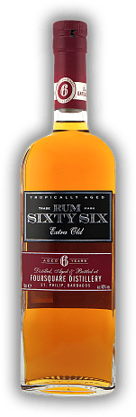 Rum Sixty Six Extra Old 6 Years Foursquare 40%