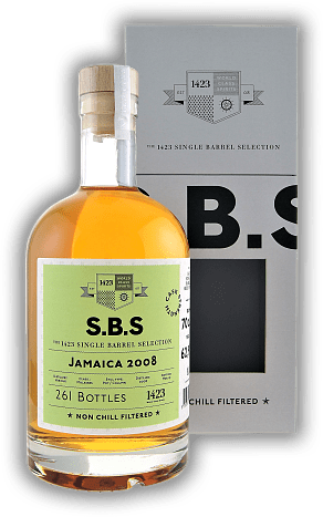 SBS Rum Jamaica 2008 Cask Strength 62,9%