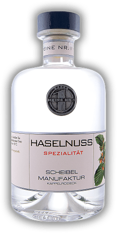 Scheibel Platin Private Label Haselnuss Spirituose