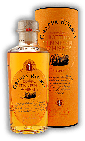 Sibona Grappa Riserva Botti da Tennessee Whiskey