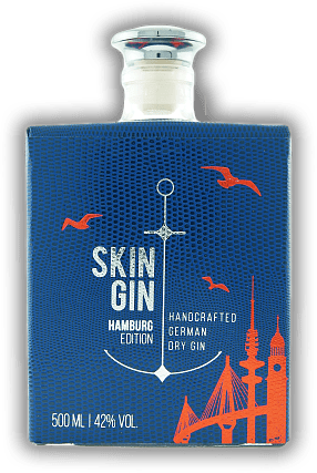 Skin Gin - Edition Hamburg Blue