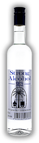 Strong Alcohol Triple Distilled