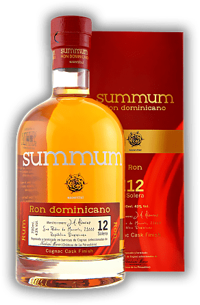 Summum 12 Years Ron Dominicano Cognac Cask Finished