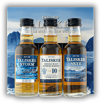 Talisker Miniaturen Set 3x0,05 Liter Sky,10 Years, Storm