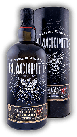 Teeling Whiskey Blackpitts Peated