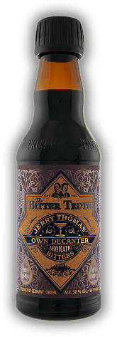 The Bitter Truth Jerry Thomas Own Decanter Bitters