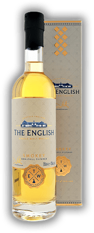 The English - Smokey Single Malt Whisky 0,2 Liter