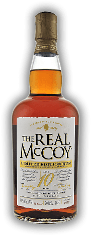 The Real McCoy 10 Years Limited Edition Virgin Oak & Bourbon Cask