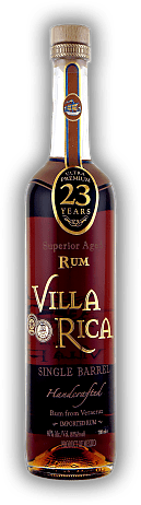 Villa Rica Single Barrel Rum 23 Years