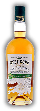 West Cork Single Malt Virgin Oak Cask Finish