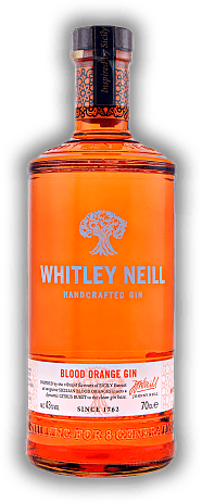 Whitley Neill Blood Orange Handcrafted Gin 43%