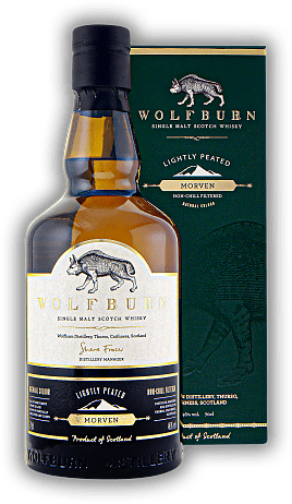 Wolfburn Morven lightly peated