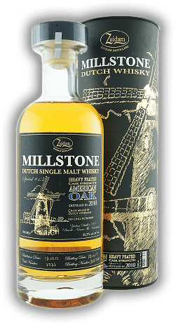 Zuidam Millstone Single Malt Whisky Heavy Peated Cask Strength Special No.13 51,2% American Oak 2010/2017