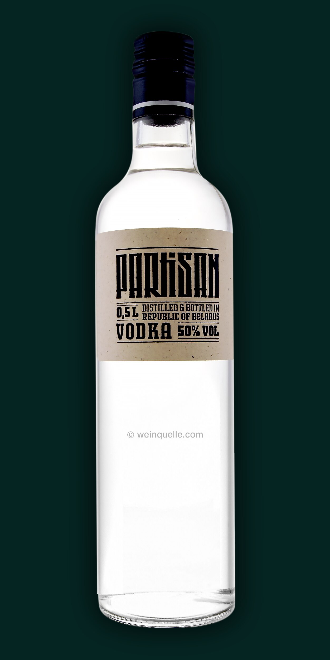 partisan vodka aus belarus weissrussland 50 0 5 liter. Black Bedroom Furniture Sets. Home Design Ideas