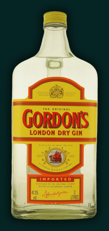 Moderne Gordon's Dry Gin 47,3% 2,0 Liter, 38,50 € - Weinquelle Lühmann PY-14
