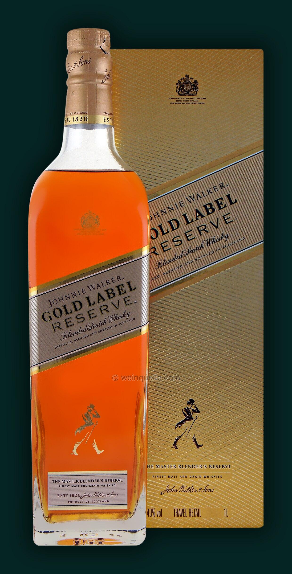 Johnnie Walker Gold Label Reserve 10 Liter