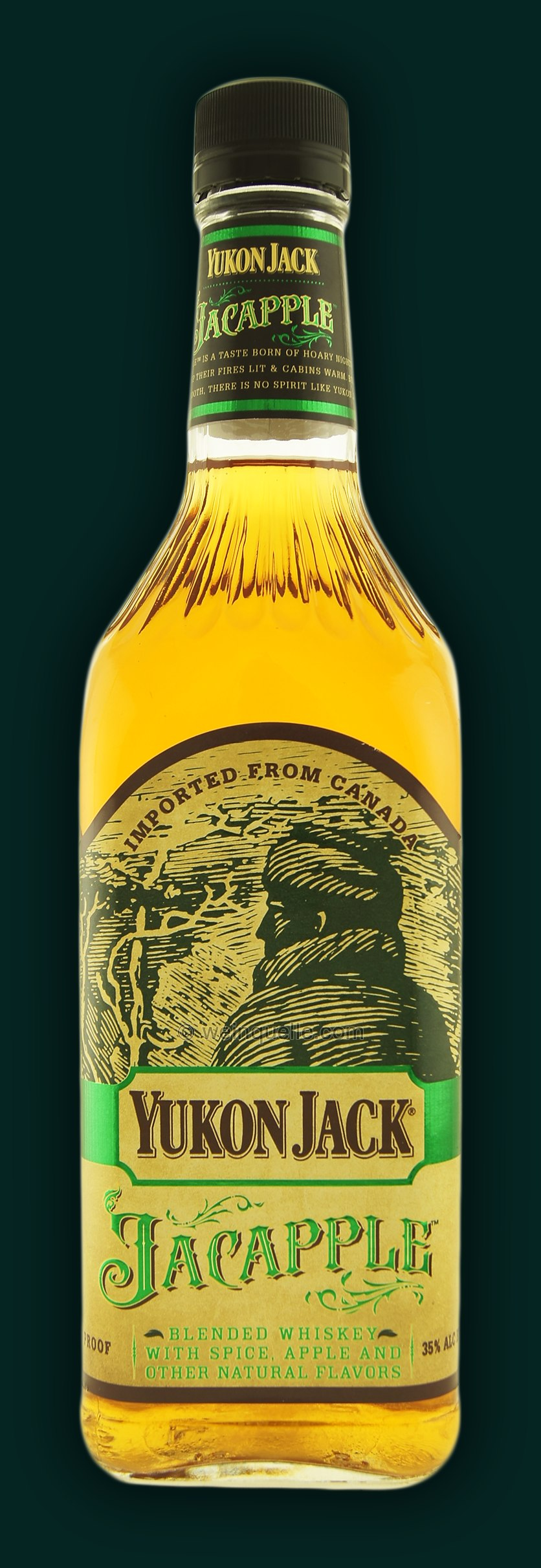 Yukon Jack Jacapple Canadian Liqueur Weinquelle Luhmann