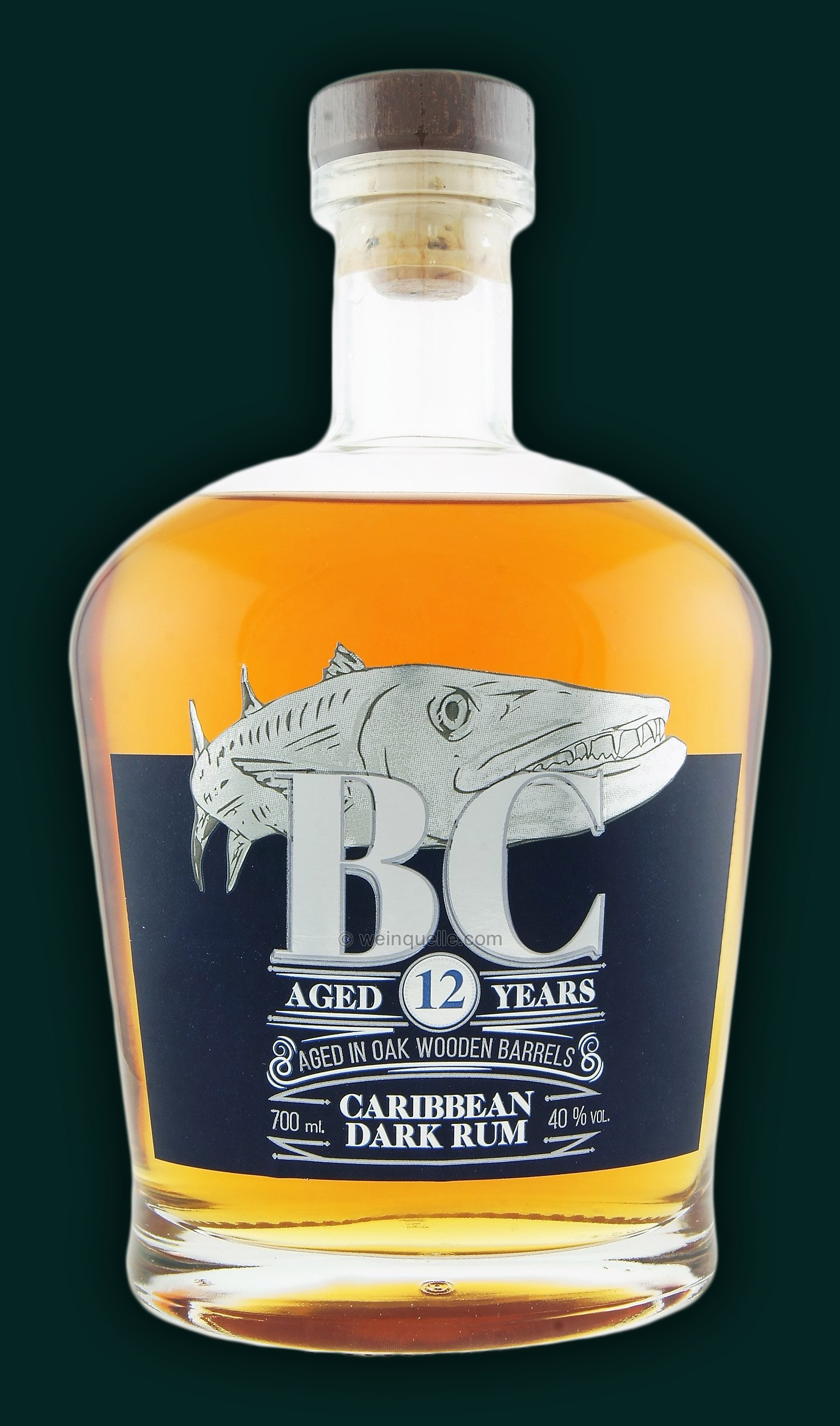 BC Reserve Collection Caribbean Dark Rum 12YO
