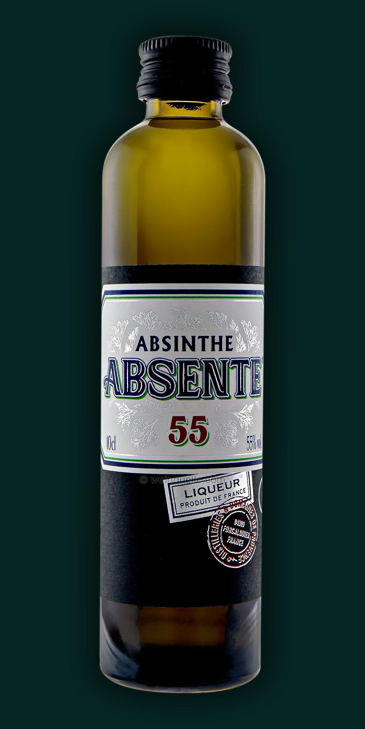 absinth absente frankreich 0 10 liter 6 50 weinquelle. Black Bedroom Furniture Sets. Home Design Ideas