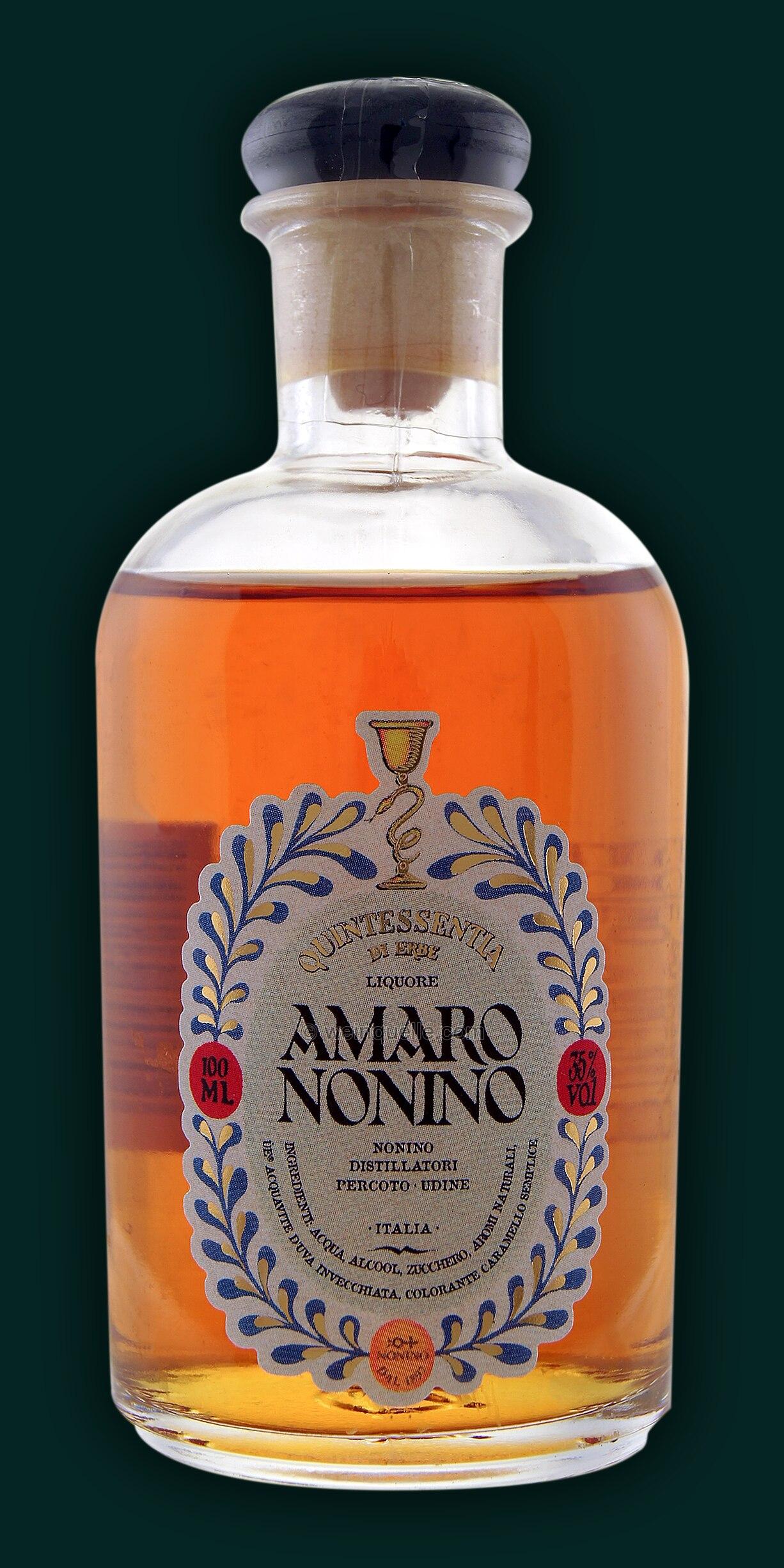 Nonino Amaro 01 Liter 1095 Weinquelle Lühmann