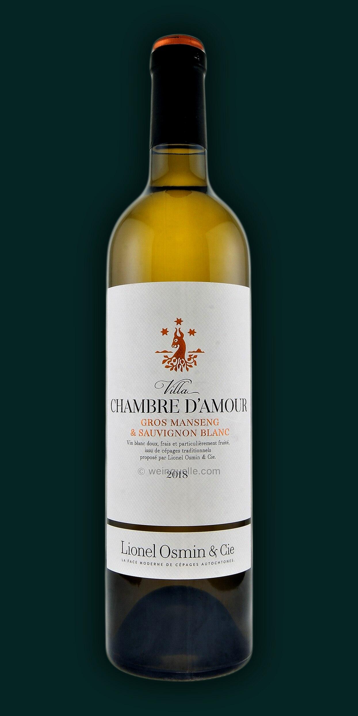 Lionel Osmin, Villa Chambre D\'Amour, Gros Manseng, Sauvignon Blanc ...