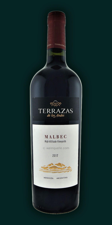 Terrazas De Los Andes Malbec 2017 Mendoza